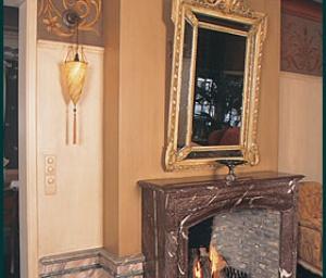 marmerimitatie is een van onze speciale schildertechnieken