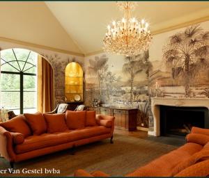 behangwerken: panoramisch behangpapier op maat