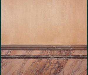 schildertechnieken marmerimitaties detail
