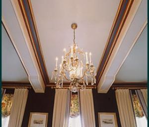 speciale schildertechnieken op plafond