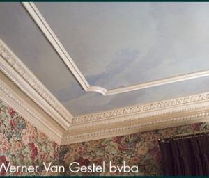 speciale schildertechnieken aan plafond